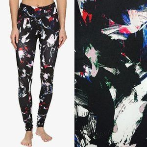 Beyond Yoga Abstract Leggings Lux Palette S EUC